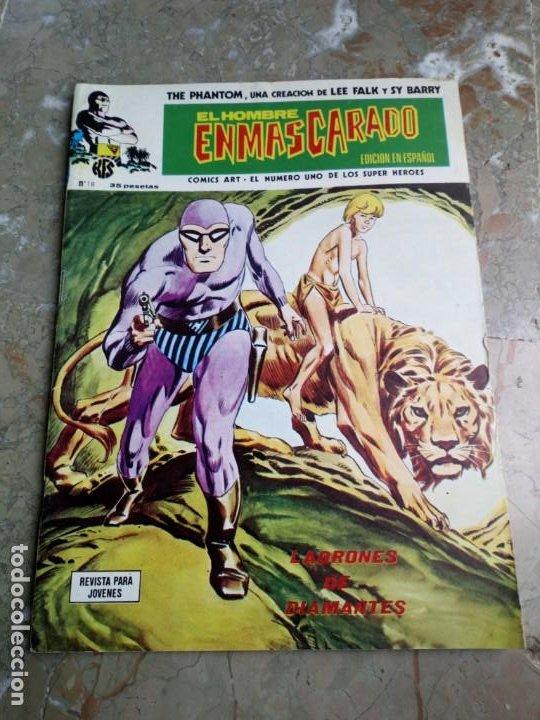 EL HOMBRE ENMASCARADO VOL. 1 Nº 18 VERTICE (Tebeos y Comics - Vértice - Hombre Enmascarado)