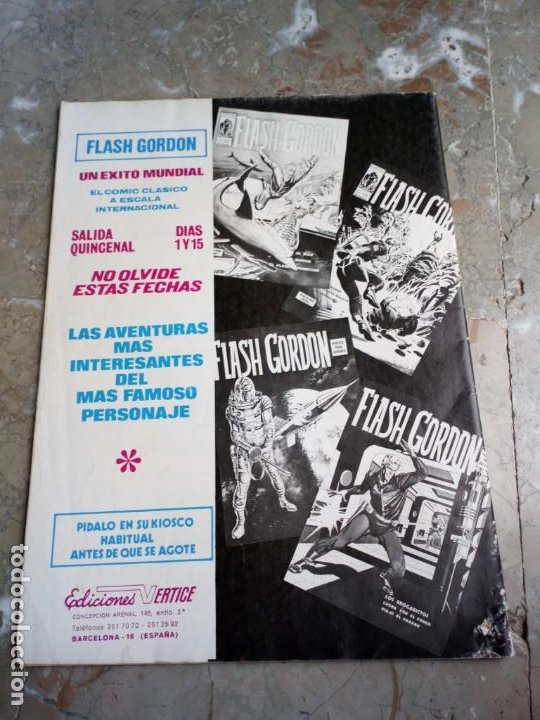 Cómics: El Hombre Enmascarado Vol. 1 Nº 16 VERTICE - Foto 2 - 222158798