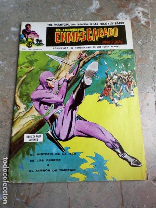 EL HOMBRE ENMASCARADO VOL. 1 Nº 16 VERTICE (Tebeos y Comics - Vértice - Hombre Enmascarado)
