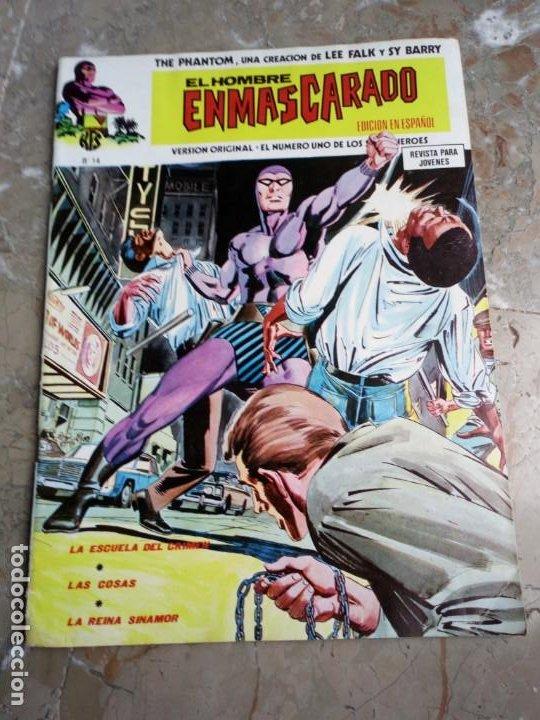 EL HOMBRE ENMASCARADO VOL. 1 Nº 14 VERTICE (Tebeos y Comics - Vértice - Hombre Enmascarado)