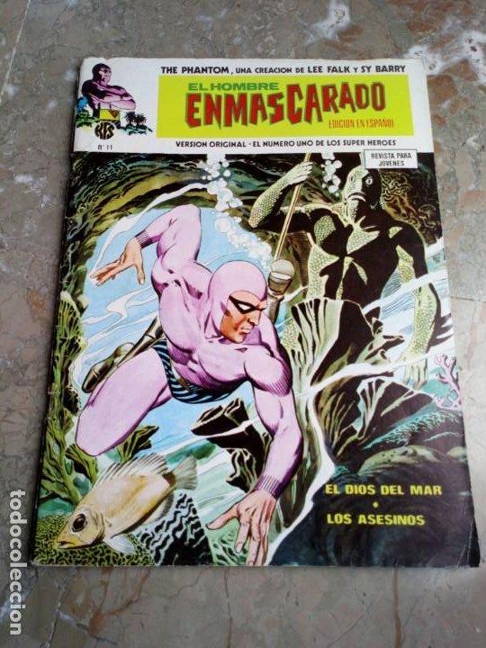 EL HOMBRE ENMASCARADO VOL. 1 Nº 11 VERTICE (Tebeos y Comics - Vértice - Hombre Enmascarado)