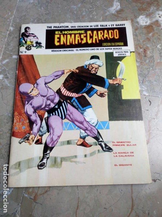 EL HOMBRE ENMASCARADO VOL. 1 Nº 9 VERTICE (Tebeos y Comics - Vértice - Hombre Enmascarado)