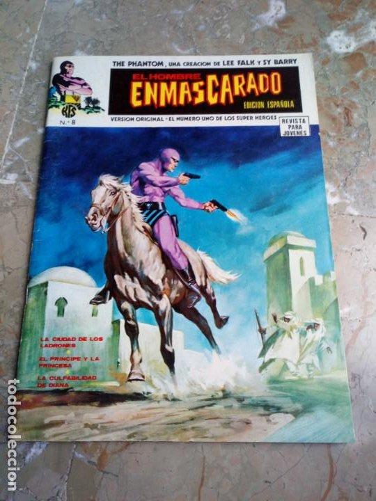 EL HOMBRE ENMASCARADO VOL. 1 Nº 8 VERTICE (Tebeos y Comics - Vértice - Hombre Enmascarado)
