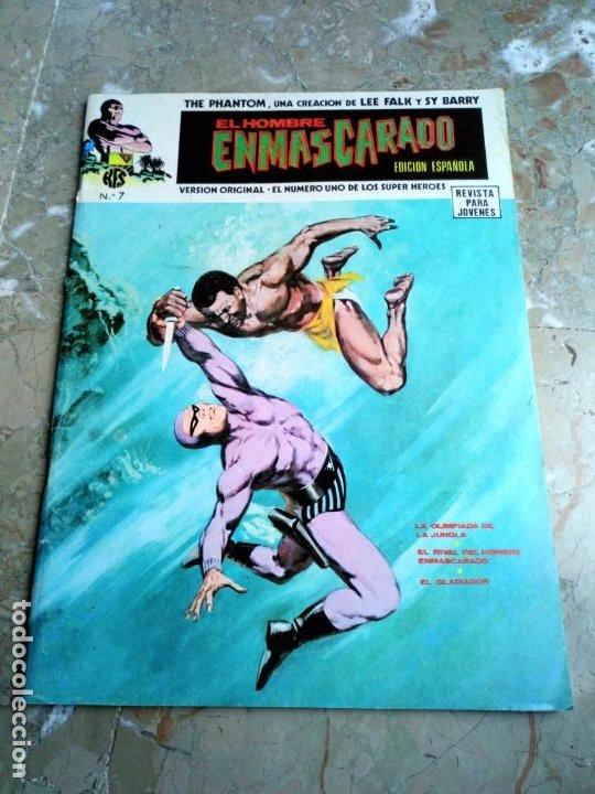 EL HOMBRE ENMASCARADO VOL. 1 Nº 7 VERTICE (Tebeos y Comics - Vértice - Hombre Enmascarado)