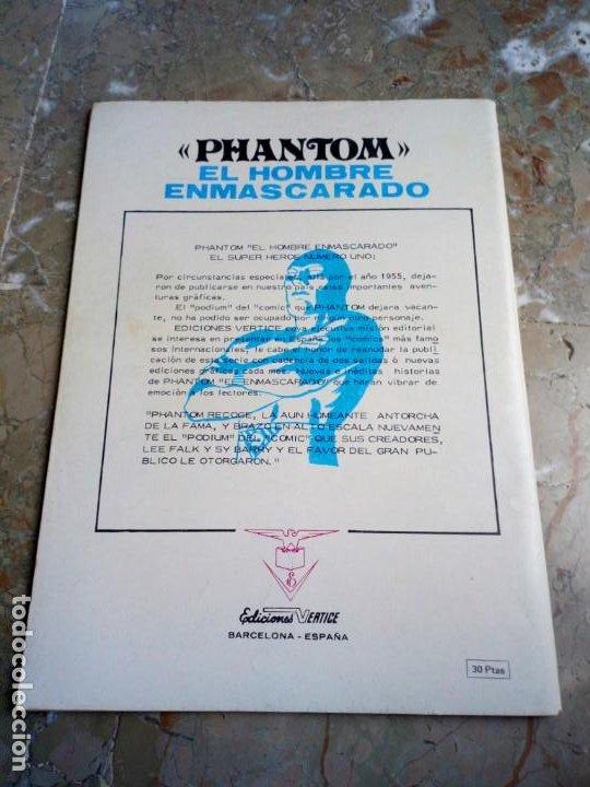 Cómics: El Hombre Enmascarado Vol. 1 Nº 7 VERTICE - Foto 2 - 222163971