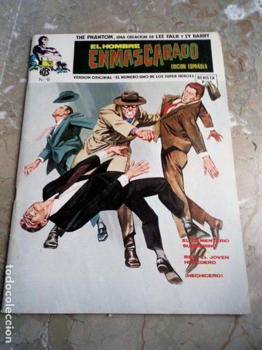 EL HOMBRE ENMASCARADO VOL. 1 Nº 6 VERTICE (Tebeos y Comics - Vértice - Hombre Enmascarado)