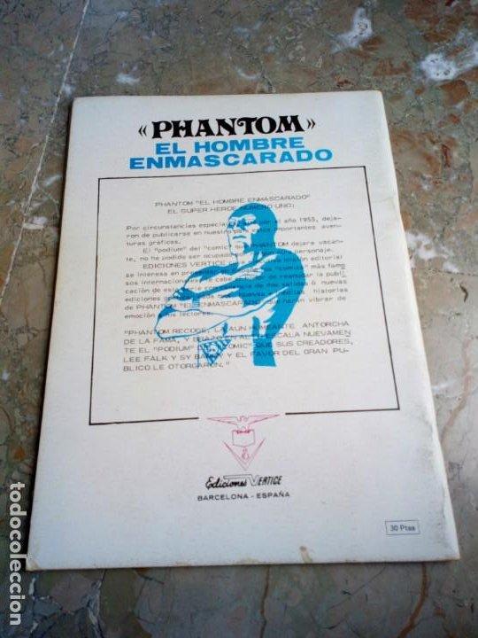 Cómics: El Hombre Enmascarado Vol. 1 Nº 5 VERTICE - Foto 2 - 222164453