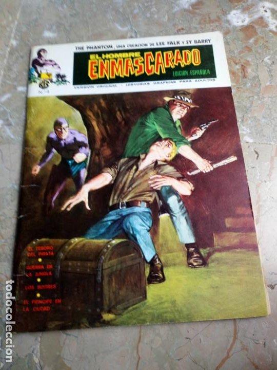 EL HOMBRE ENMASCARADO VOL. 1 Nº 4 VERTICE (Tebeos y Comics - Vértice - Hombre Enmascarado)