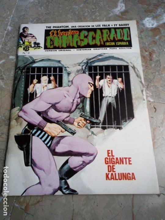 EL HOMBRE ENMASCARADO VOL. 1 Nº 3 VERTICE (Tebeos y Comics - Vértice - Hombre Enmascarado)