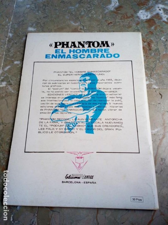 Cómics: El Hombre Enmascarado Vol. 1 Nº 3 VERTICE - Foto 2 - 222164806
