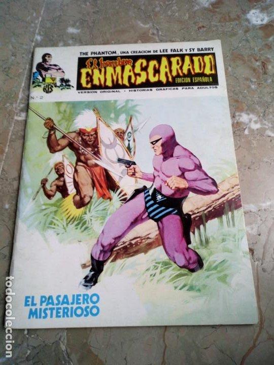 EL HOMBRE ENMASCARADO VOL. 1 Nº 2 VERTICE (Tebeos y Comics - Vértice - Hombre Enmascarado)