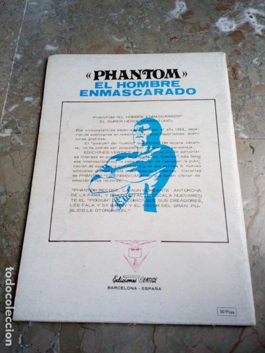Cómics: El Hombre Enmascarado Vol. 1 Nº 2 VERTICE - Foto 2 - 222164915