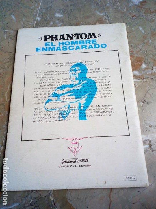 Cómics: El Hombre Enmascarado Vol. 1 Nº 1 VERTICE - Foto 2 - 222165108