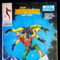 Cómics: DAN DEFENSOR Nº 11 - TACO - EL ASALTANTE NOCTURNO - VERTICE 1969. Lote 222165680