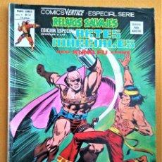 Cómics: COMICS VÉRTICE. ESPECIAL SERIE - VOL.1 Nº50 - RELATOS SALVAJES - ARTES MARCIALES. Lote 222262070