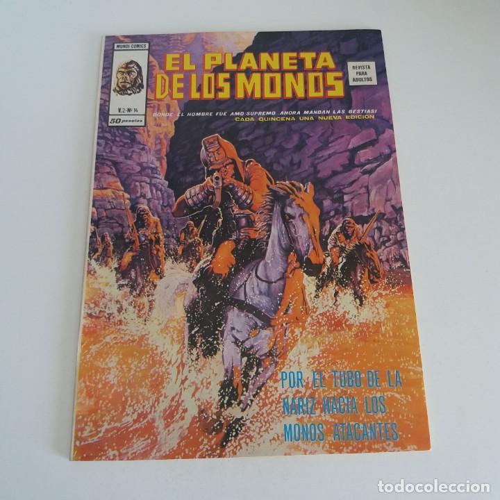 VÉRTICE EL PLANETA DE LOS MONOS VOLUMEN 2 NÚMERO 14 (Tebeos y Comics - Vértice - Otros)
