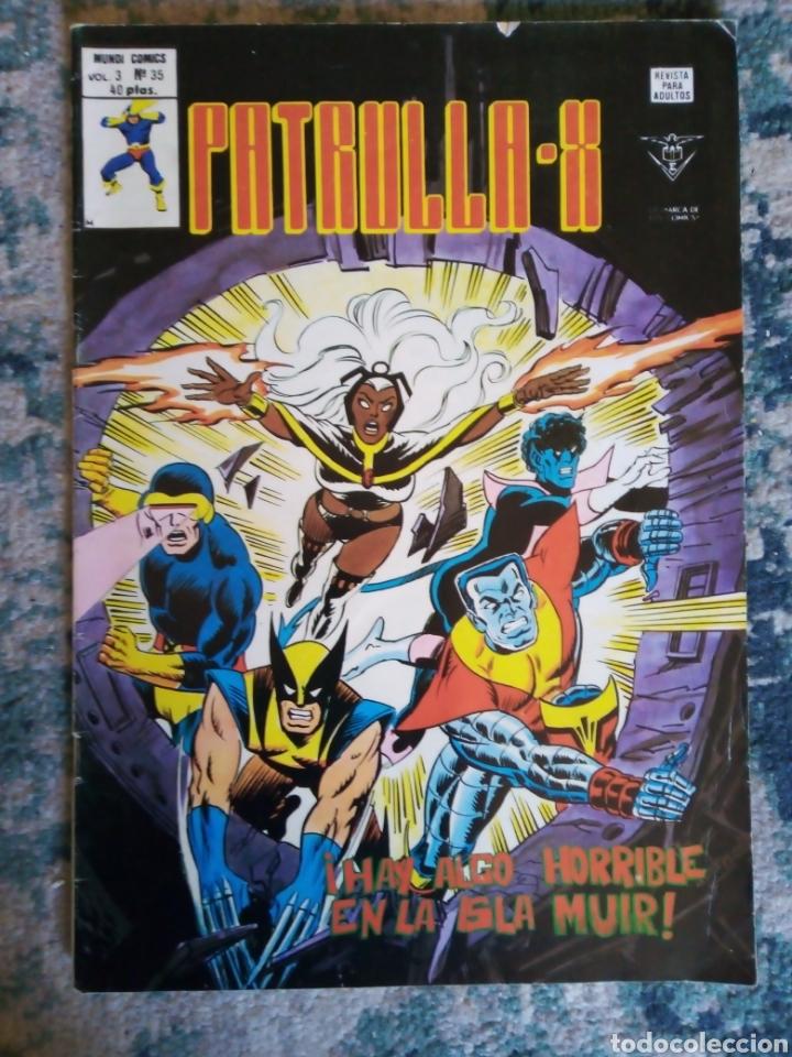 PATRULLA X VOL 3 NÚM 35. VÉRTICE (Tebeos y Comics - Vértice - Patrulla X)