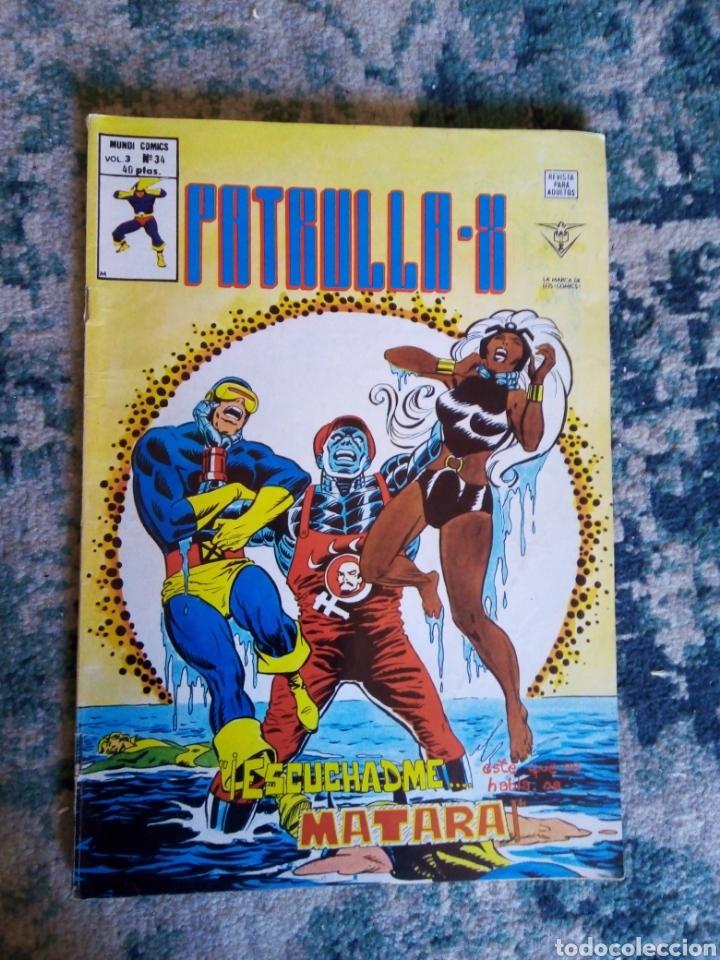 PATRULLA X VOL 3 NÚM 34. VÉRTICE (Tebeos y Comics - Vértice - Patrulla X)