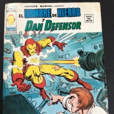 Cómics: COMIC HEROES MARVEL Nº 13 V2 EL HOMBRE DE HIERRO Y DAN DEFENSOR EDITORIAL VERTICE. Lote 222361268