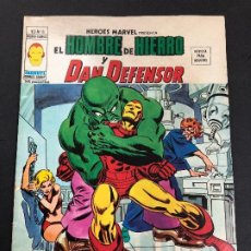 Cómics: COMIC HEROES MARVEL Nº 16 V2 EL HOMBRE DE HIERRO Y DAN DEFENSOR EDITORIAL VERTICE. Lote 222361335