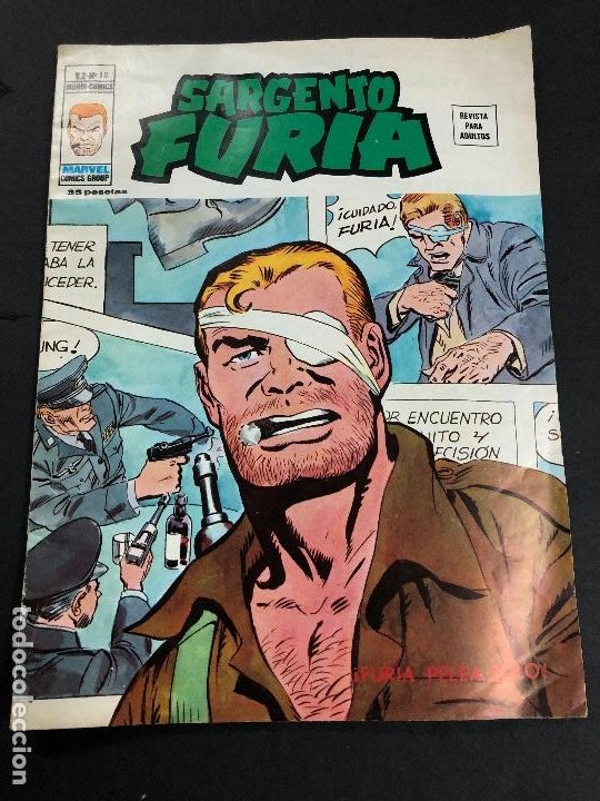 COMIC SARGENTO FURIA V2 Nº 18 EDITORIAL VERTICE (Tebeos y Comics - Vértice - V.2)