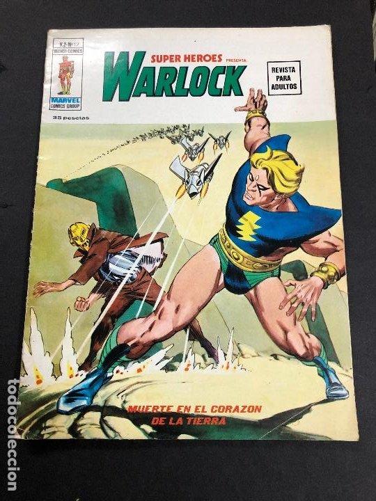 COMIC SUPER HEROES WARLOCK V2 Nº 17 EDITORIAL VERTICE (Tebeos y Comics - Vértice - V.2)