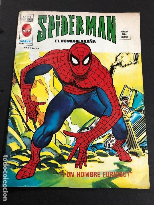 COMIC SPIDERMAN EL HOMBRE ARAÑA V3 Nº 16 EDITORIAL VERTICE (Tebeos y Comics - Vértice - V.3)