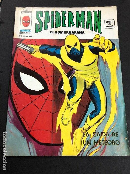 COMIC SPIDERMAN EL HOMBRE ARAÑA V3 Nº 18 EDITORIAL VERTICE (Tebeos y Comics - Vértice - V.3)
