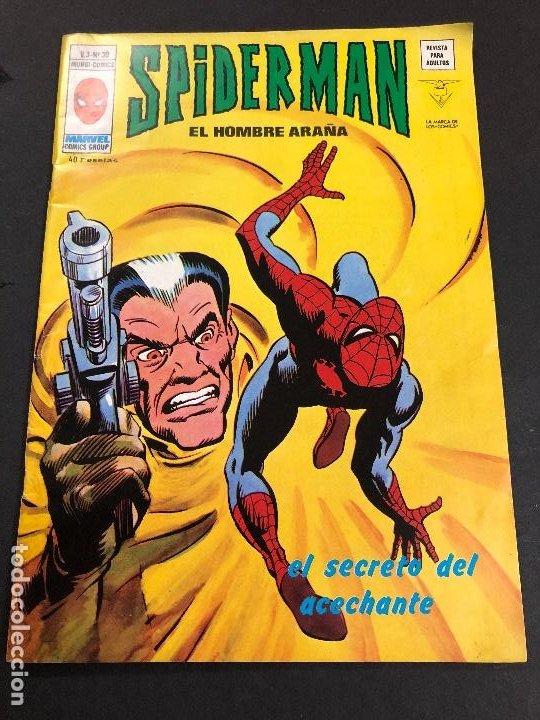 COMIC SPIDERMAN EL HOMBRE ARAÑA V3 Nº 39 EDITORIAL VERTICE (Tebeos y Comics - Vértice - V.3)