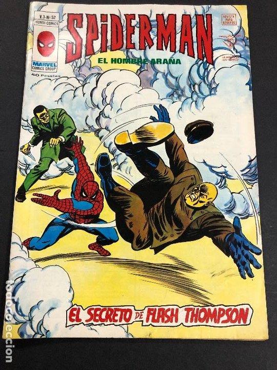 COMIC SPIDERMAN EL HOMBRE ARAÑA V3 Nº 52 EDITORIAL VERTICE (Tebeos y Comics - Vértice - V.3)