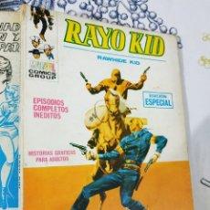 Cómics: RAYO KID N.º 11 MI HERRAMIENTA ES MI REVOLVER VERTICE TACO. Lote 222397276