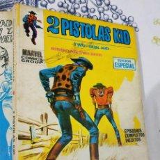 Cómics: 2 PISTOLAS KID N.º 11 DUELO CON BILLY EL NIÑO VERTICE TACO. Lote 222397926
