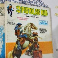 Cómics: 2 PISTOLAS KID N.º 8 TREN HACIA LA MUERTE VERTICE TACO. Lote 222397962