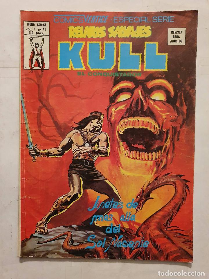 RELATOS SALVAJES VOL. 1 # 71 (VERTICE) - KULL (Tebeos y Comics - Vértice - Relatos Salvajes)