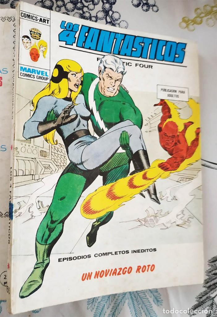 LOS 4 FANTASTICOS N.º 65 UN NOVIAZGO ROTO VERTICE TACO (Tebeos y Comics - Vértice - 4 Fantásticos)