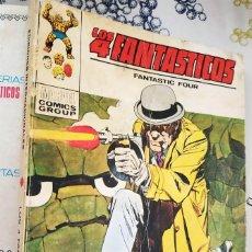 Cómics: LOS 4 FANTASTICOS N.º 40 EL TOTEM VIVIENTE VERTICE TACO (2). Lote 222502140