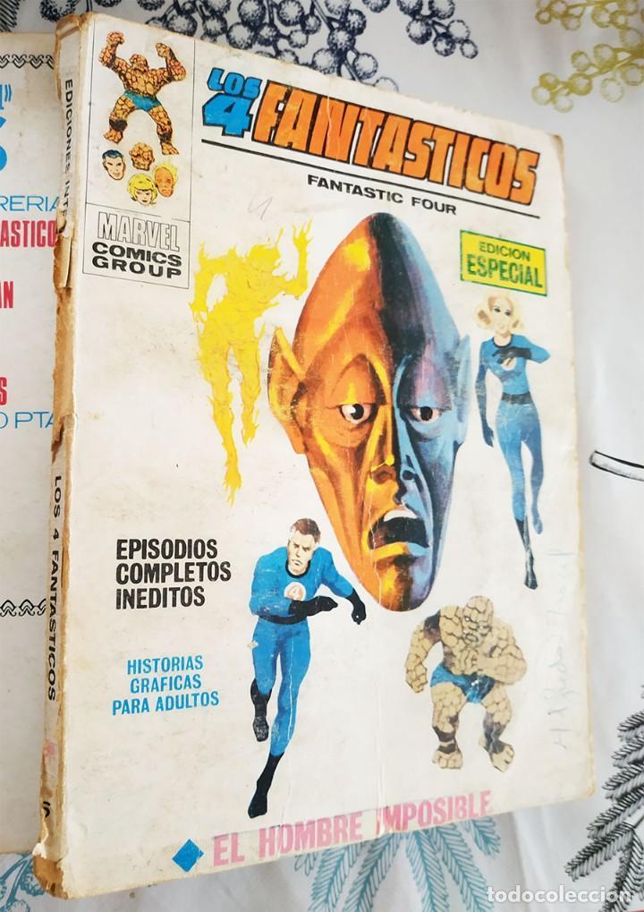 LOS 4 FANTASTICOS N.º 6 EL HOMBRE IMPOSIBLE VERTICE TACO (Tebeos y Comics - Vértice - 4 Fantásticos)