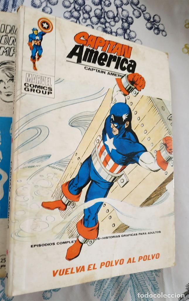 CAPITAN AMERICA N.º 34 VUELVA EL POLVO AL POLVO VERTICE TACO (1) (Tebeos y Comics - Vértice - Capitán América)