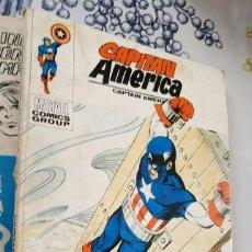 Cómics: CAPITAN AMERICA N.º 34 VUELVA EL POLVO AL POLVO VERTICE TACO (1). Lote 222503047