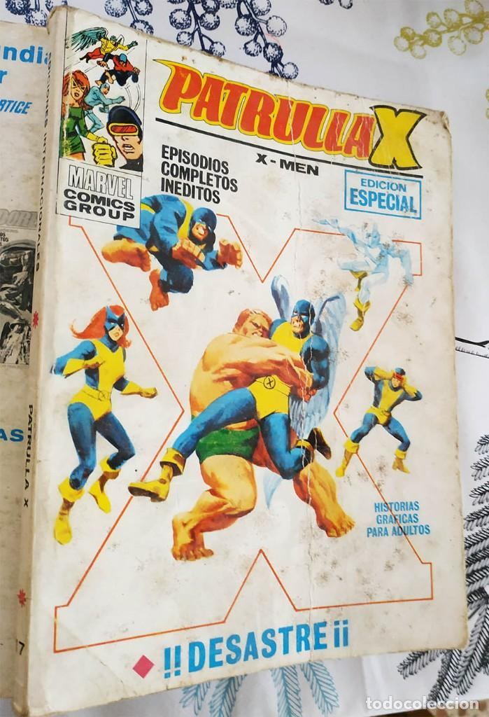 PATRULLA X X-MEN N.º 17 DESASTRE VERTICE TACO (Tebeos y Comics - Vértice - Capitán América)