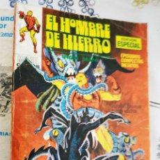 Cómics: EL HOMBRE DE HIERRO IRON MAN N.º 20 EL GEMIDO DEL DEMONIO VERTICE TACO. Lote 222503478