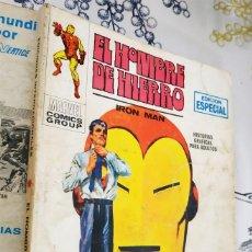 Cómics: EL HOMBRE DE HIERRO IRON MAN N.º 12 EL HOMBRE QUE MATO A TONY STARK VERTICE TACO. Lote 222503555