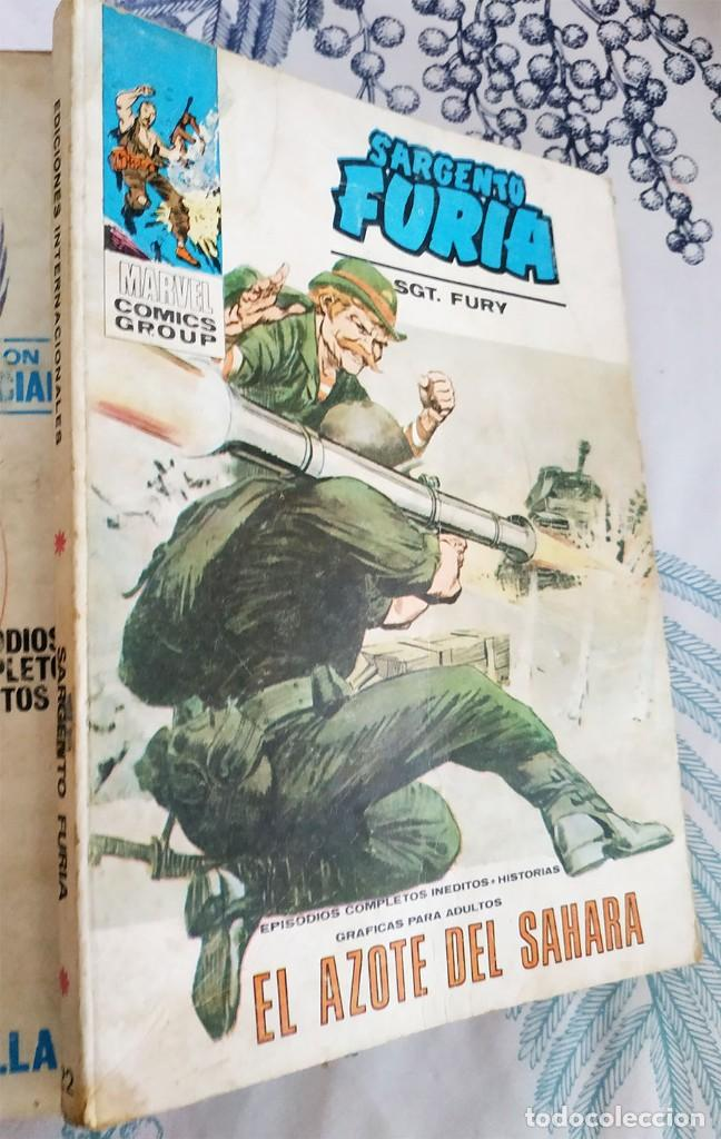 EL SARGENTO FURIA N.º 22 EL AZOTE DEL SAHARA VERTICE TACO (Tebeos y Comics - Vértice - Furia)