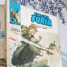 Cómics: EL SARGENTO FURIA N.º 22 EL AZOTE DEL SAHARA VERTICE TACO. Lote 222503686