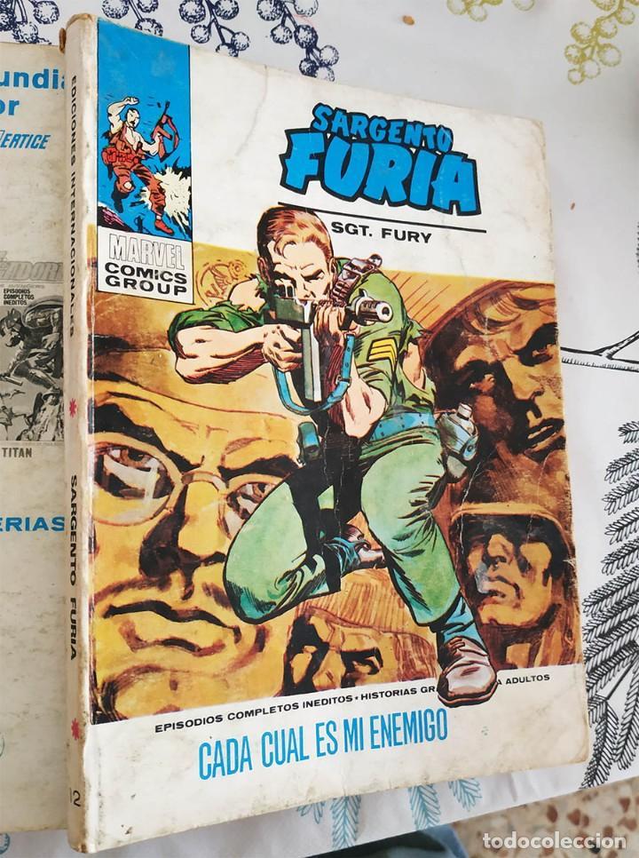 EL SARGENTO FURIA FURIA N.º 12 CADA CUAL ES MI ENEMIGO VERTICE TACO (Tebeos y Comics - Vértice - Furia)