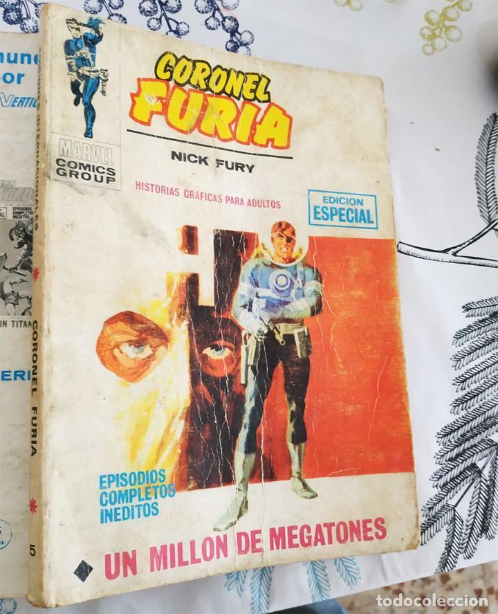EL CORONEL FURIA N.º 5 UN MILLON DE MEGATONES VERTICE TACO (Tebeos y Comics - Vértice - Furia)