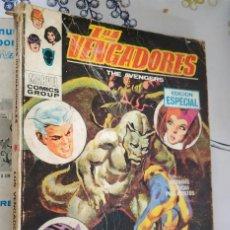 Cómics: LOS VENGADORES N.º 18 EL DRAGON DORMIDO VERTICE TACO (2). Lote 222504255