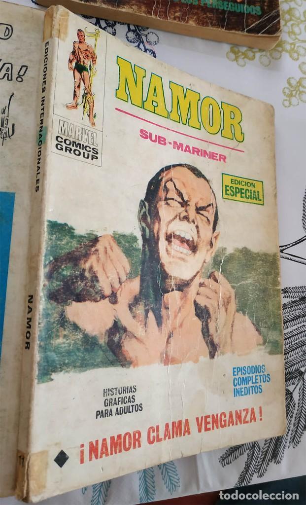 NAMOR V1 N.º 11 CLAMA VENGANZA VERTICE TACO (2) (Tebeos y Comics - Vértice - V.1)