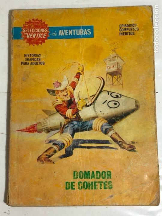 SELECCIONES VERTICE Nº90 - DOMADOR DE COHETES (Tebeos y Comics - Vértice - V.1)