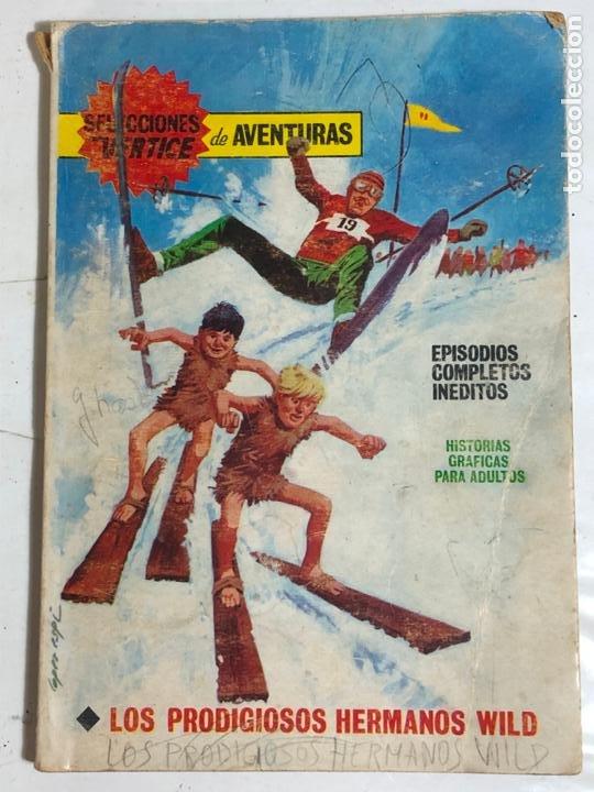 SELECCIONES VERTICE Nº88 - LOS PRODIGIOSOS HERMANOS WILD (Tebeos y Comics - Vértice - V.1)